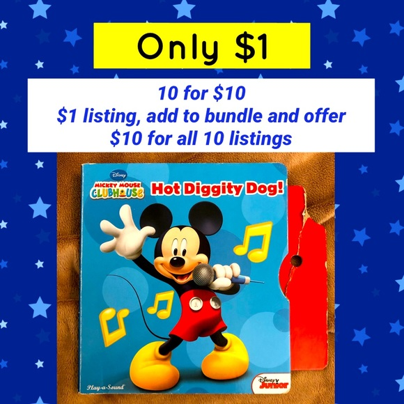 $1 item (10 for $10) Disney's Mickey Mouse Book